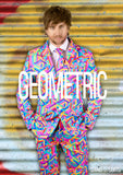 Funky Geometric Stag Suit - Stag Suits