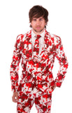 Blood Stained Halloween Print Stag Suit - Stag Suits
