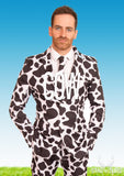 Cow Animal Print Stag Suit - Stag Suits