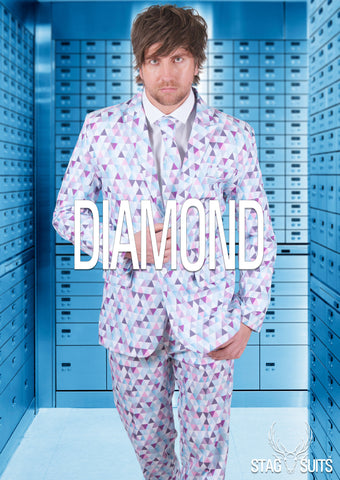 Diamond Geezer Stag Suit