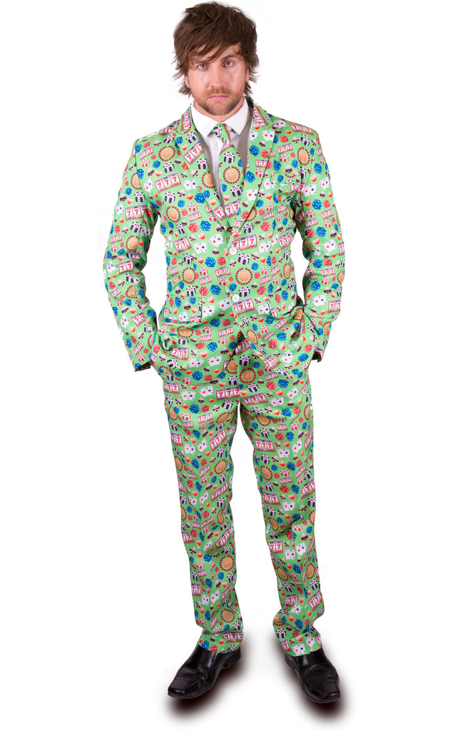 Green Poker Casino Stag Suit - Stag Suits