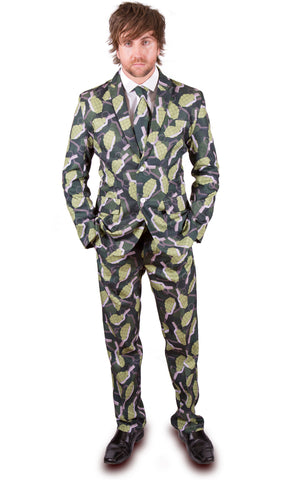 Grenade Green Stag Suit