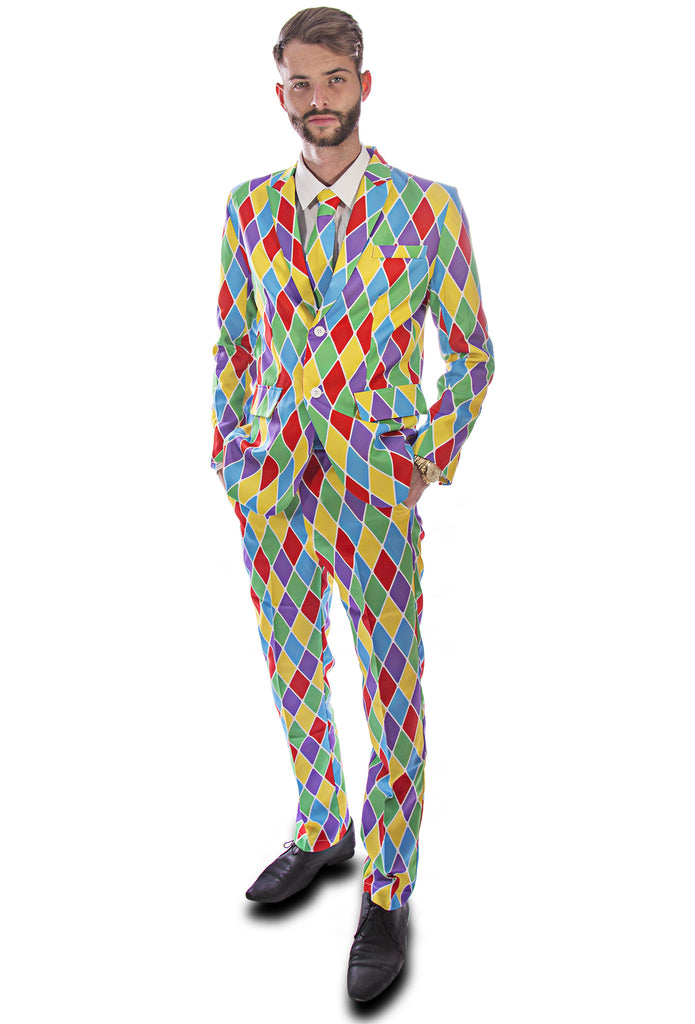 Harlequin Joker Stag Suit - Stag Suits