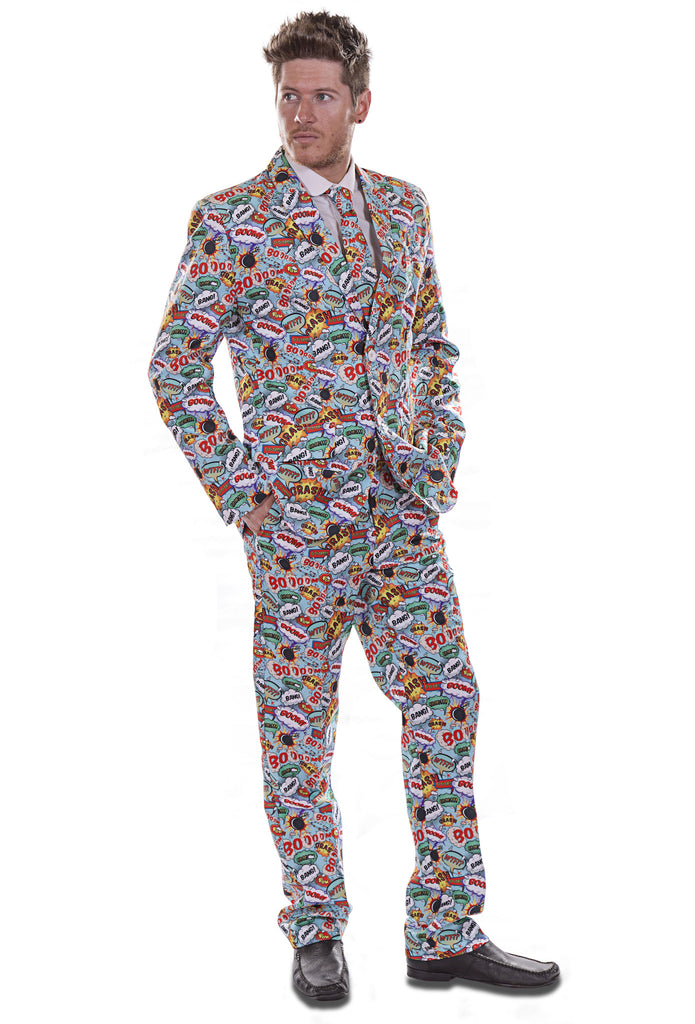 Comic Strip Retro Stag Suit - Stag Suits