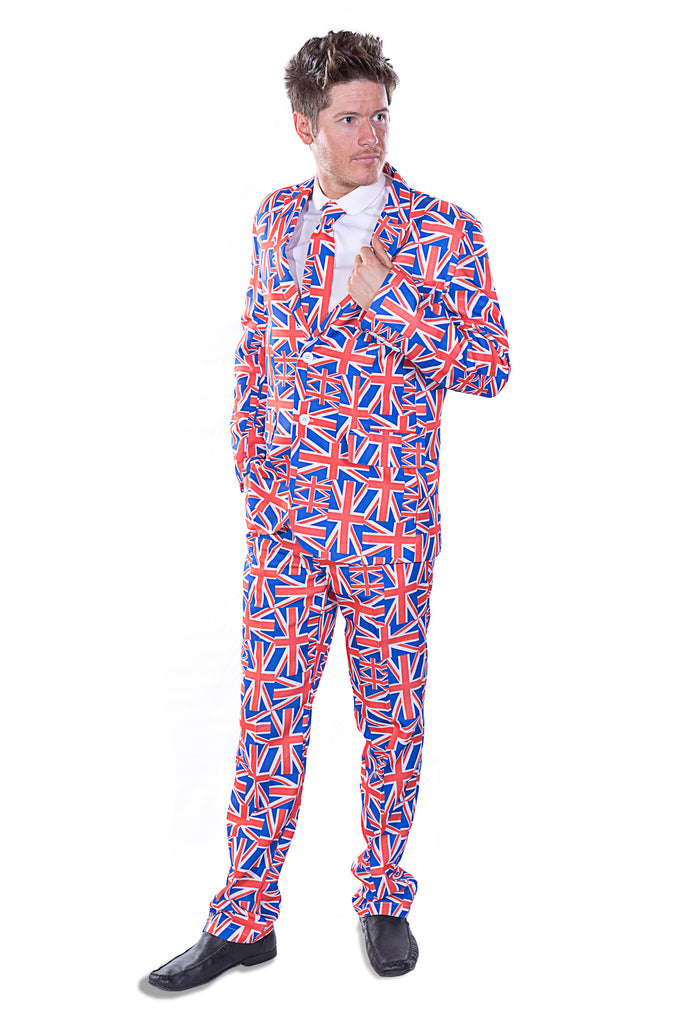 British Union Jack Flag Stag Suit - Stag Suits