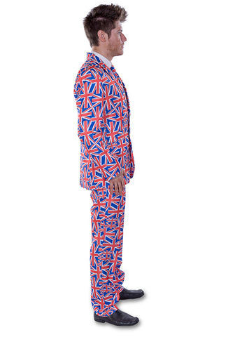 British Union Jack Flag Stag Suit