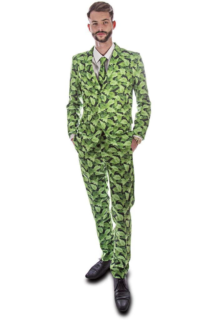Leafy Green Stag Suit - Stag Suits