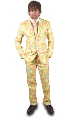 Citrus Lemon Summer Stag Suit