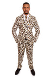 Cheetah Animal Print Stag Suit - Stag Suits