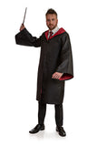 Magicians Black Robe Cloak - Stag Suits