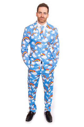 Rainbow Clouds Stag Suit
