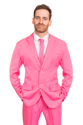 Pink Original Mens Stag Suit