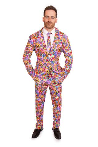 Psychedelic 60s Stag Suit