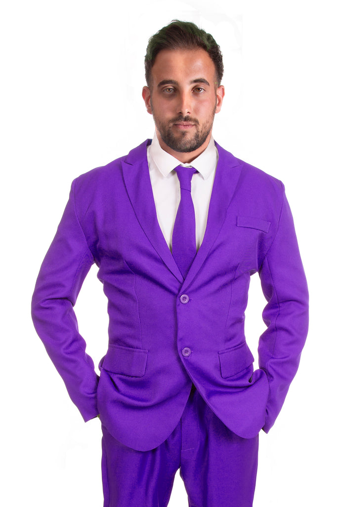 Purple Original Mens Stag Suit - Stag Suits