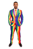 Rainbow Striped Stag Suit (Pattern Defect) - Stag Suits