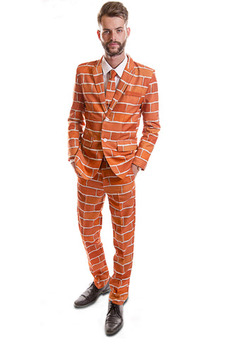 Red Brick Stag Suit