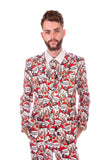 Santa Christmas Stag Suit - Stag Suits