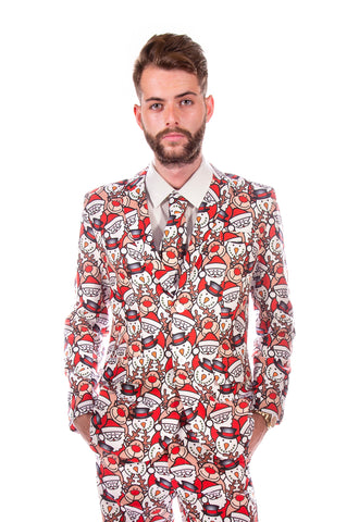 Santa Christmas Stag Suit