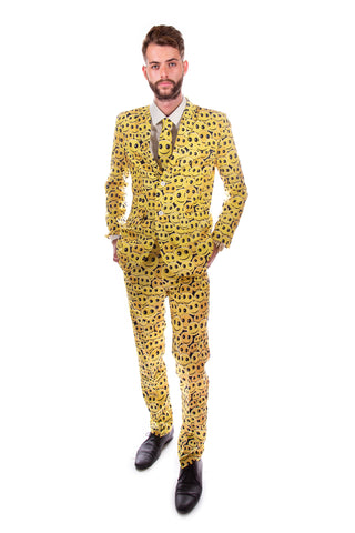 Happy Face 90s Retro Stag Suit