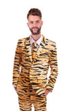 Tiger Animal Print Stag Suit - Stag Suits
