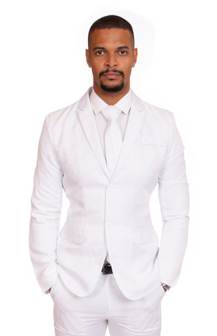 White Original Stag Suit