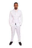 White Original Stag Suit - Stag Suits