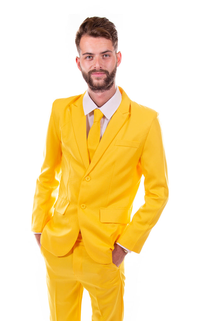 Yellow Original Mens Stag Suit - Stag Suits