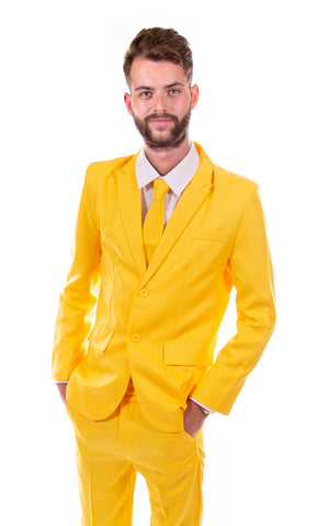 Yellow Original Mens Stag Suit