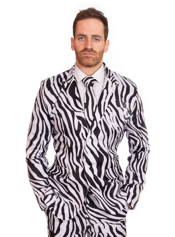 Cow Animal Print Stag Suit