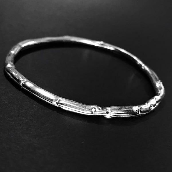 Fine Silver Indulgence Bangle