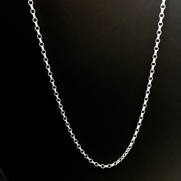 Long Chain Oval Belcher large link
