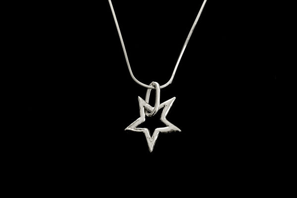 Supernova Single star necklace