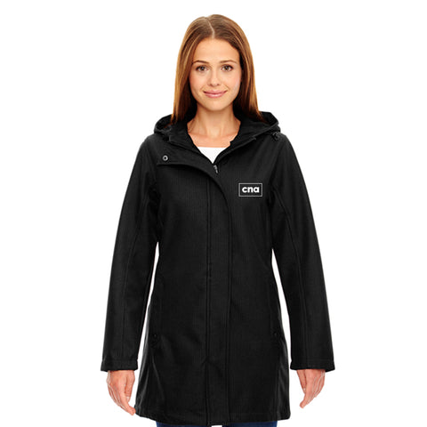 Women's Longer Length Soft Shell Jacket