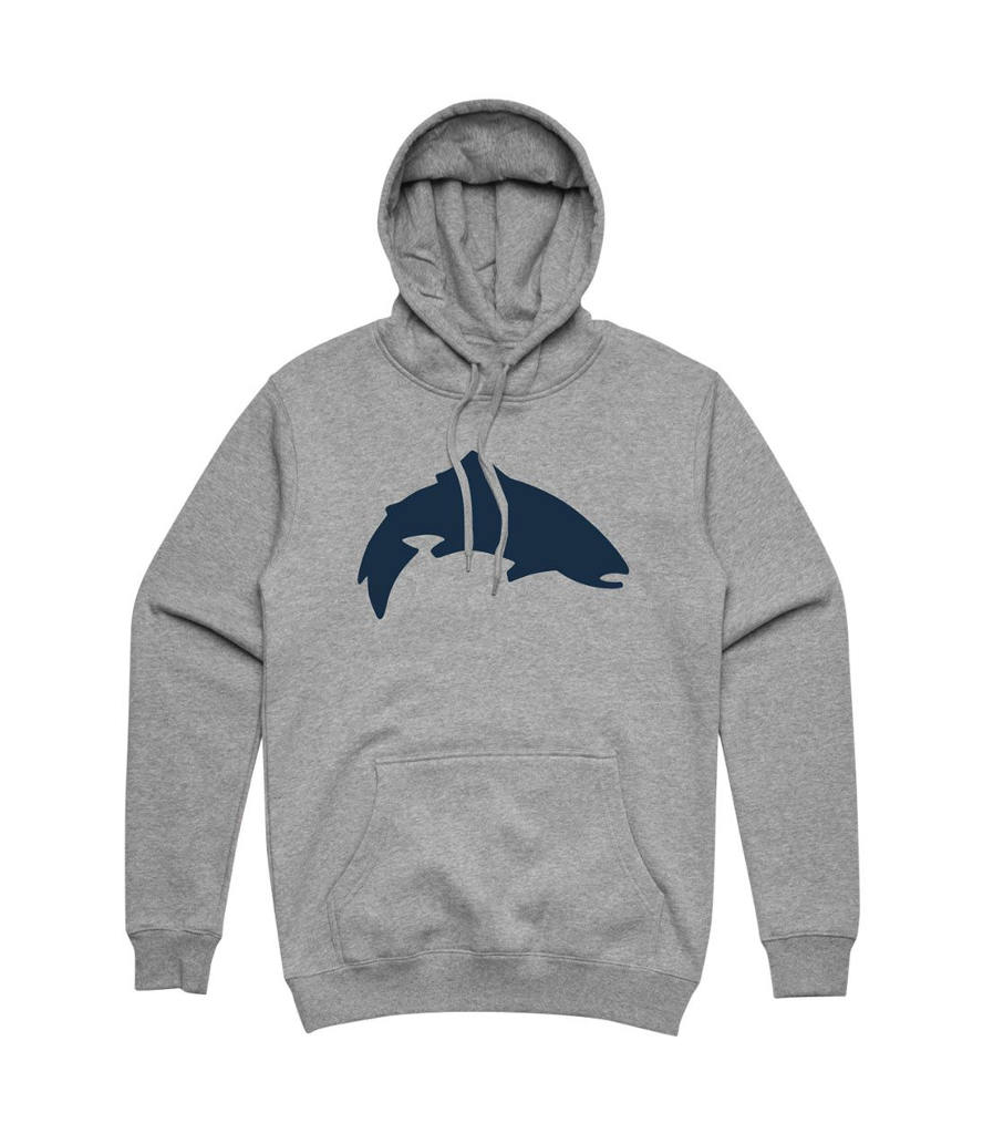 Simms - Trout Icon Hoody - Grey Heather