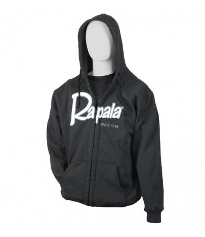 Rapala - Heavy Weight Zip Hoody - Charcoal