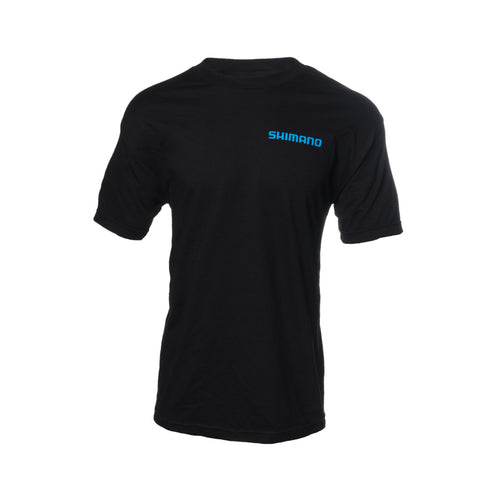 Shimano - Short Sleeve Cotton T-shirt - Black
