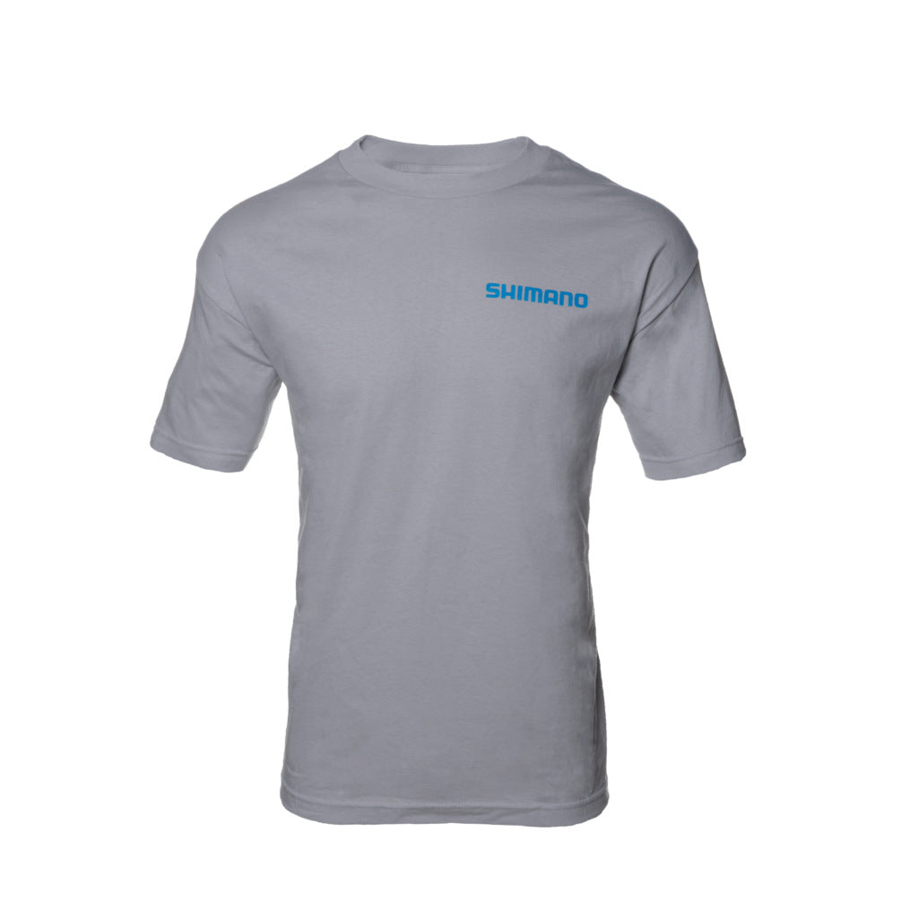 Shimano - Short Sleeve Cotton T-shirt - Grey