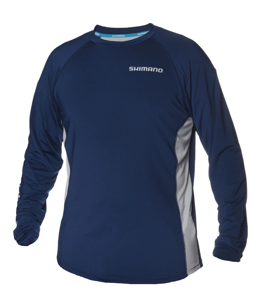 Shimano-fishing-shirt-castor-navy-gift