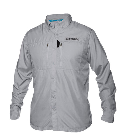 Shimano - Volans Vented Long Sleeve Shirt - Gray