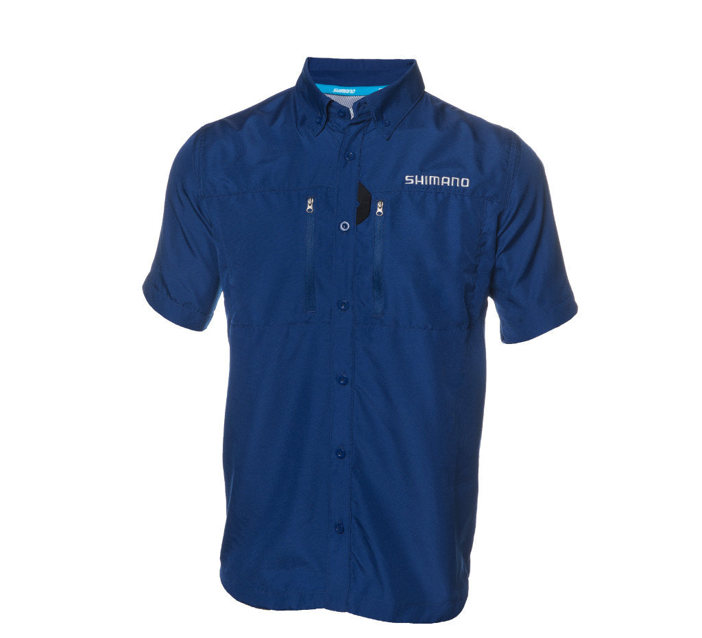 Shimano - Volans Short Sleeve Vented Shirt - Navy