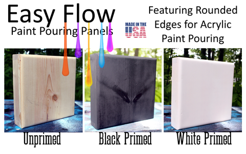 Introducing Easy Flow Painting Panels for Paint Pouring