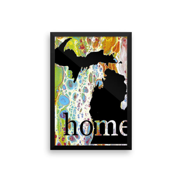 MI HOME Framed poster