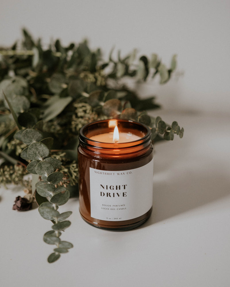 Night Drive Soy Candle