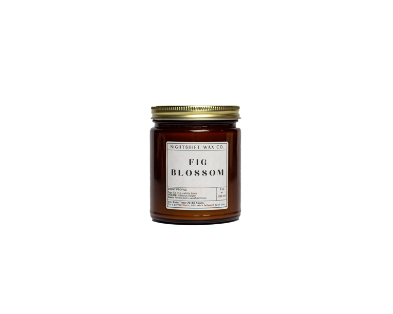 Fig Blossom Soy Candle