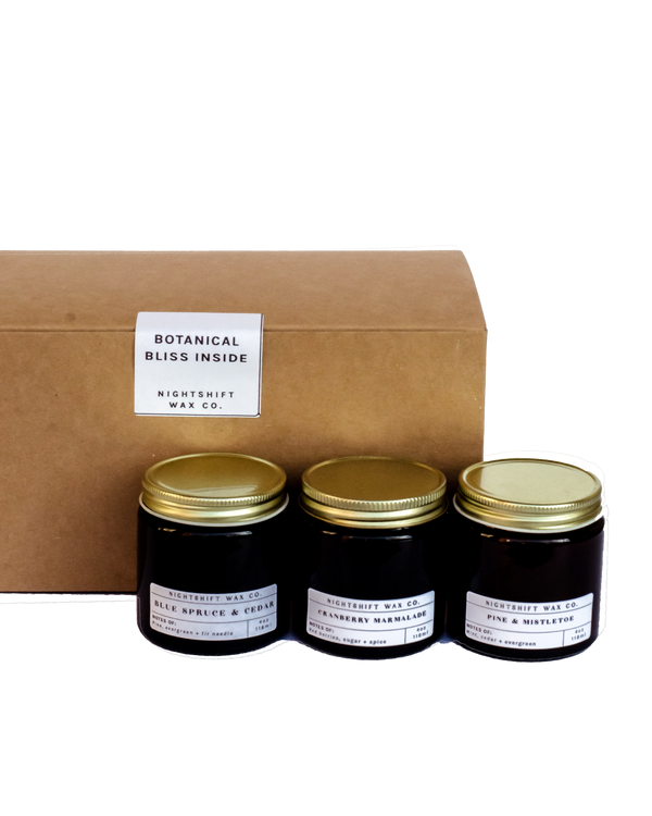 Holiday Mini-Trio Candle Gift Set