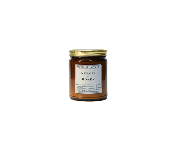 Neroli + Honey Soy Candle