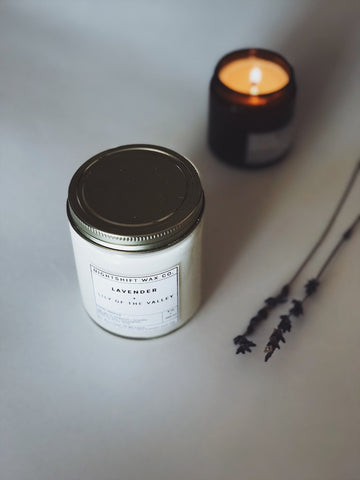 Lavender + Lily of the Valley Soy Candle