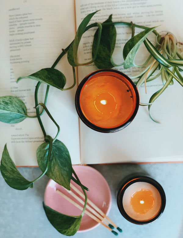 DISCONTINUING - Rosemary + Sage Soy Candle