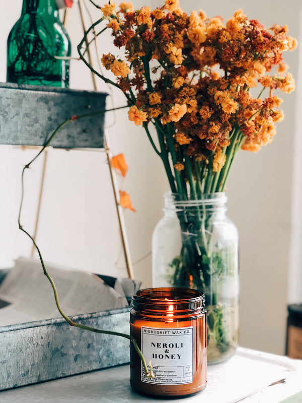 DISCONTINUING - Neroli + Honey Soy Candle