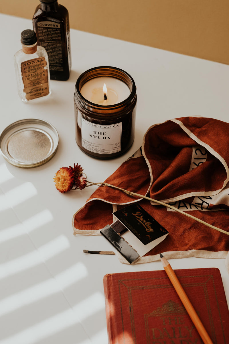 The Study Soy Candle